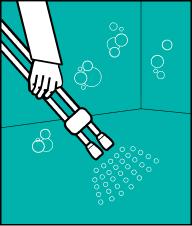 Ретельно змийте піну водою